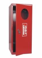 Plechová skříňka na hasicí přístroj