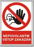 Bezpečnostní tabulky zákazové