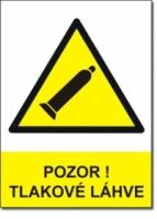 Bezpečnostní tabulky pro označení tlakových lahví