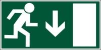 Tabulky pro bezpečnostní značení únikových cest