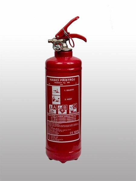 05. Práškový hasicí přístroj - 1 kg