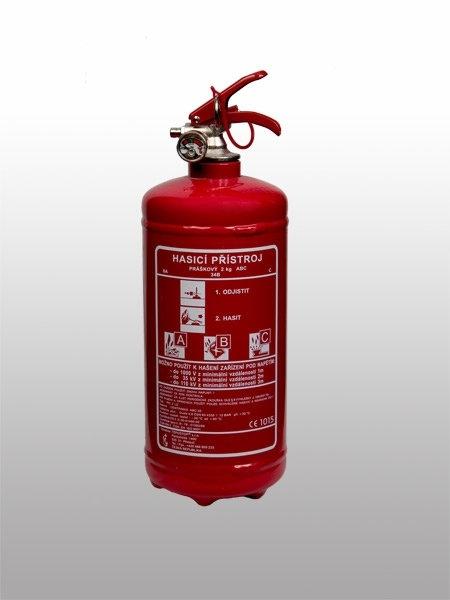 04. Práškový hasicí přístroj - 2 kg