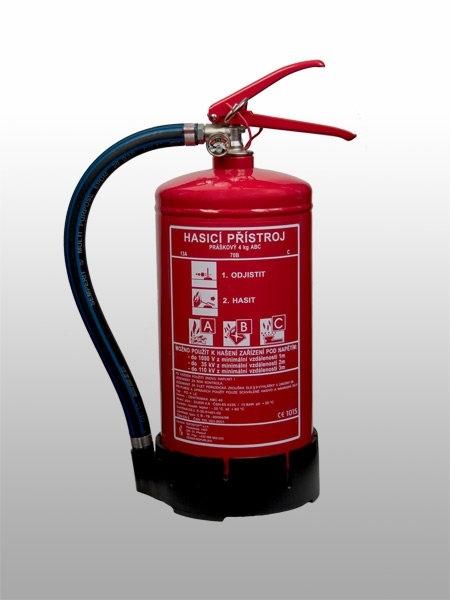 03. Práškový hasicí přístroj - 4 kg