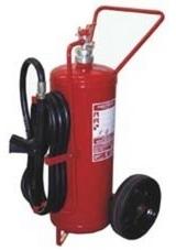 Práškový pojízdný hasicí přístroj - 50 kg