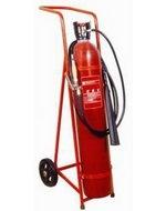 Pojízdný hasicí přístroj CO2 (sněhový) - 30 kg