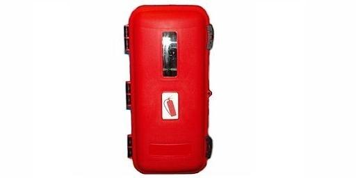 Plastová skříňka na hasicí přístroj